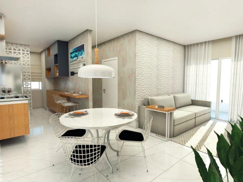 Interior do Residencial Bossa Nova